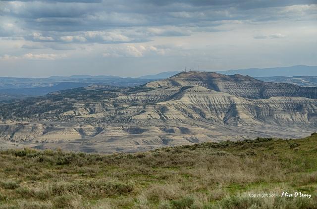 Wyoming Hills near Green River