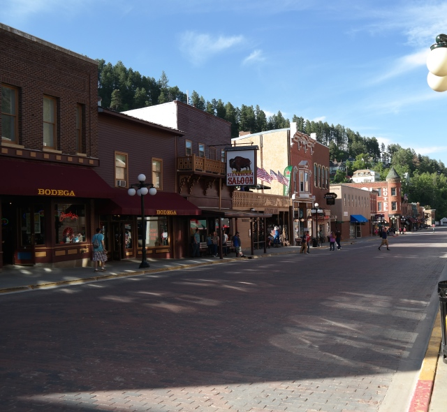 Downtown Deadwood today