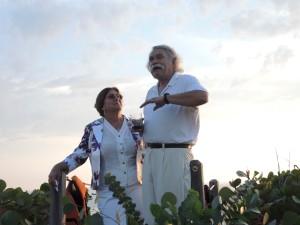 John and Aya
